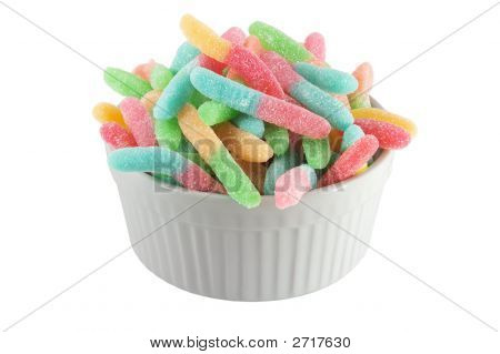 Bowl Of Worms /W Clipping Path
