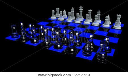 Blacklight Chess