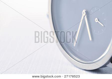 stylish wrist watch closeup