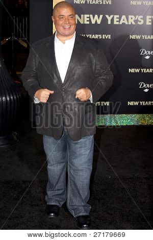 HOLLYWOOD, CA - DECEMBER 5: Actor Sarge arrives at the premiere of