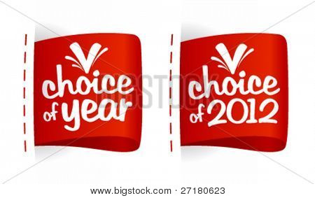 Choice of year labels set.