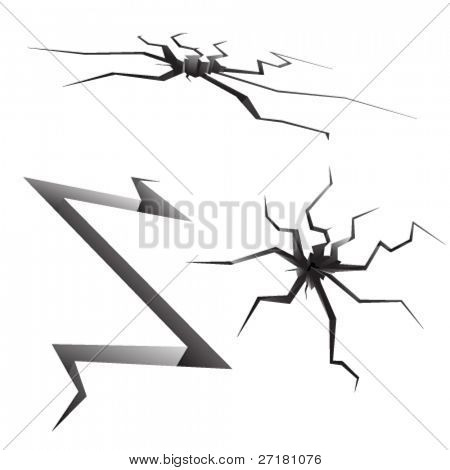 set of cracks for design