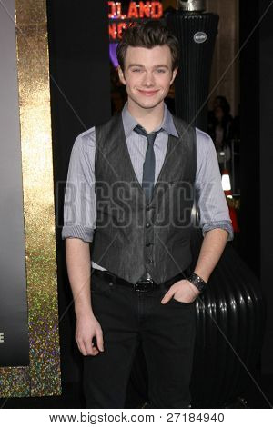 LOS ANGELES - DEC 5:  Chris Colfer arrives at the