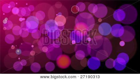 Vector fondo abstracto de luces rojas