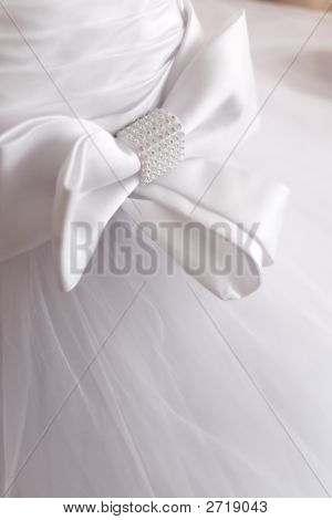 Detail Of Wedding Dress