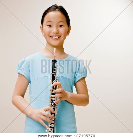 Clarinete de explotación músico seguros