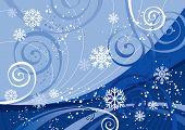 Постер, плакат: Зимние праздники редактируемые векторные В галерее также доступны изображения jpeg XXL сделаны из этого векто