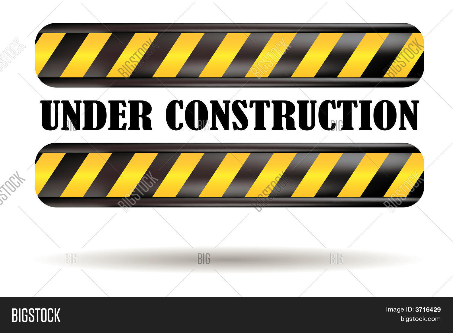 Under Construction Sign Vector Photo Bigstock