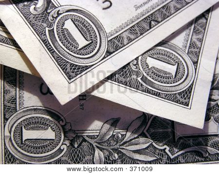 Detail Of  One Us Dollar Bill