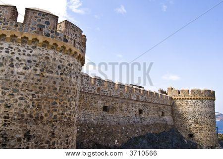 San Miguel Castle In AlmuñEcar.