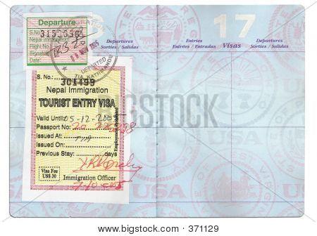 Pasaporte de turista