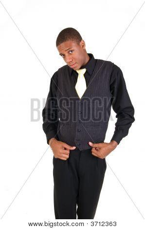 Posing Man