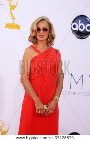 LOS ANGELES - SEP 23:  Jessica Lange arrives at the 2012 Emmy Awards at Nokia Theater on September 23, 2012 in Los Angeles, CA