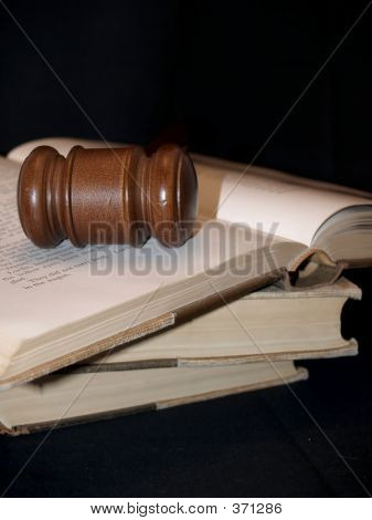 Gavel On Books