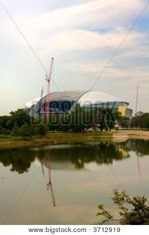 The New Dallas Cowboys Stadium In Arlington, Texas