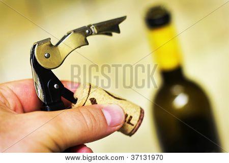 Bottle Opener Or Corkscrew