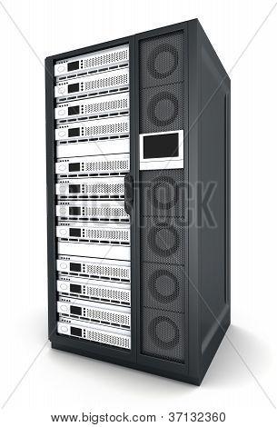Un servidor grande