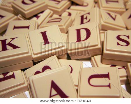 Kids Letter Tiles