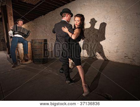 Rustic Urban Tango Dancers