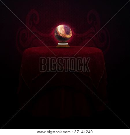 Table And Magic Ball