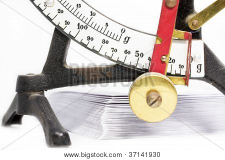 Old fashioned escala de la carta
