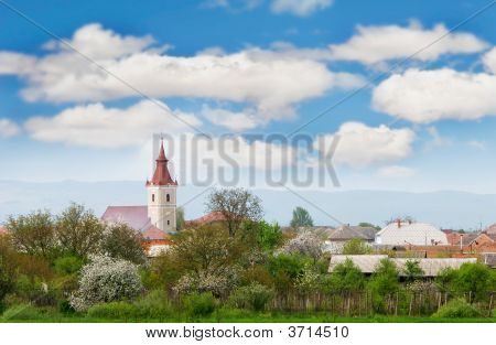 Small Town View In Western Ukraine