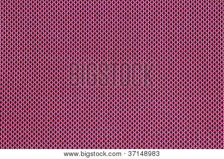 Pink-Black woven mat