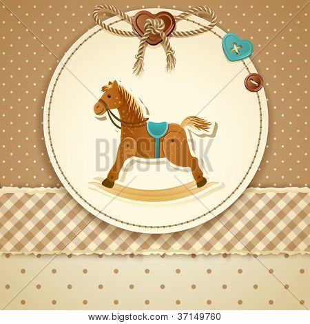 Baby Shower Invitation (boy) - raster version