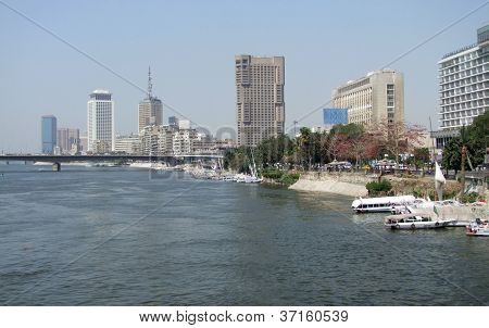 Waterside Cairo City View