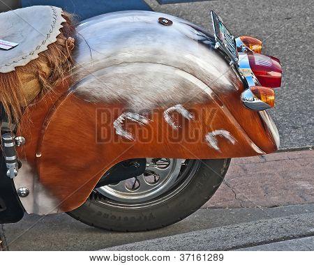 Anacortes, Wa - September 27 - Indian Motorcycle At Oyster Run