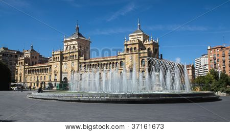 Fountain Zorrilla Of Valladolid