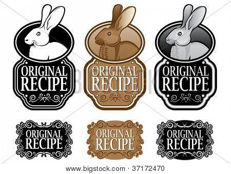 Original Recipe Rabbit version vertical seal