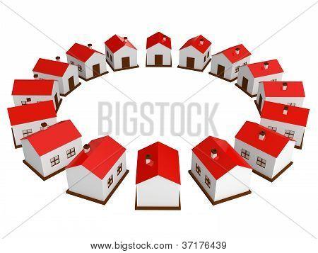 Many Small Houses