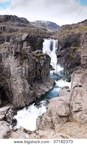 Small Waterfall, Iceland