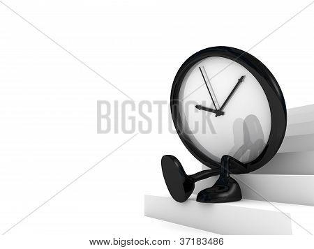 reloj espera