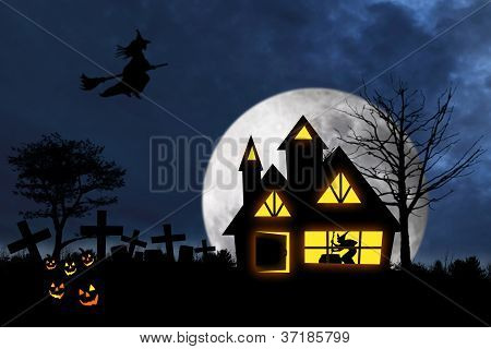 Scary Halloween Night 1