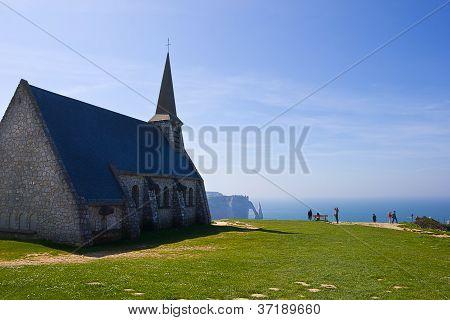 Notre Dame de la Garde chapel, Etretat