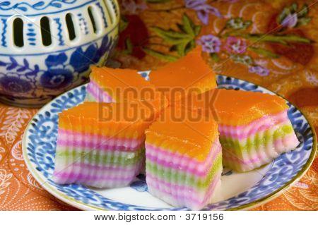 Kow Chan Kuih - Nine Layer Cake
