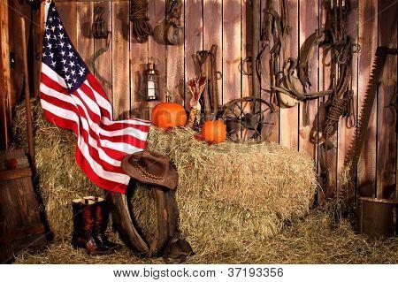 An American Barn