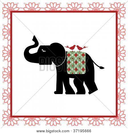 Elephant tapestry
