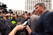 MOSCOW - 15 SEPTEMBER: One of the opposition leaders, former first deputy prime minister Boris Nemts