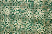 Small Green Mosaic Tiles