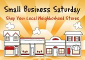 image of local shop  - Small Business Saturday encourages shopping at small and local - JPG