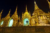 Swedagon Paya in Yangon Myanmar