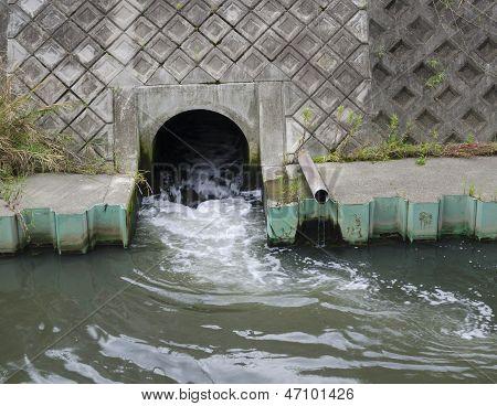 Runoff Pipe