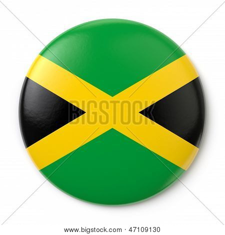 Jamaica Pin-back