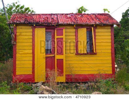 Colorful Home In Antigua