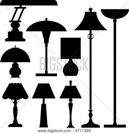 Lamps-lighting-desk-floor-lamp