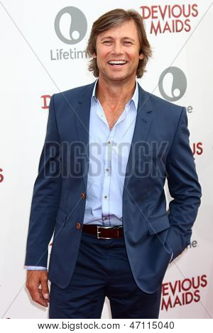 LOS ANGELES - JUN 17:  Grant Shaw arrives at the