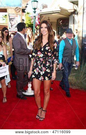 LOS ANGELES - JUN 22:  Audrina Patridge arrives at the World Premiere of